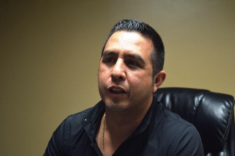 Luis Olivas Diaz director de Ingresos