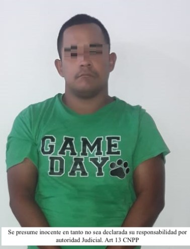 Detenido Ezequiel Arturo