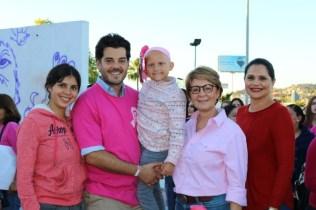 Caminata por el Dia contra Cáncer de Mama