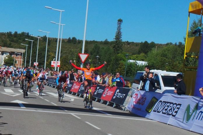 Gómiz, campeón nacional en Sabiñánigo. Foto © RFEC