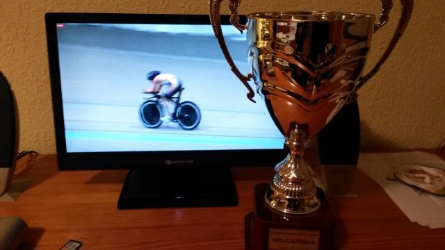 In a way, it still belongs to her. No doubt it helped her go faster during her successful hour record attempt