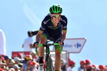 Simon Yates on stage 14 of the 2016 Vuelta a España. Foto: Graham Watson