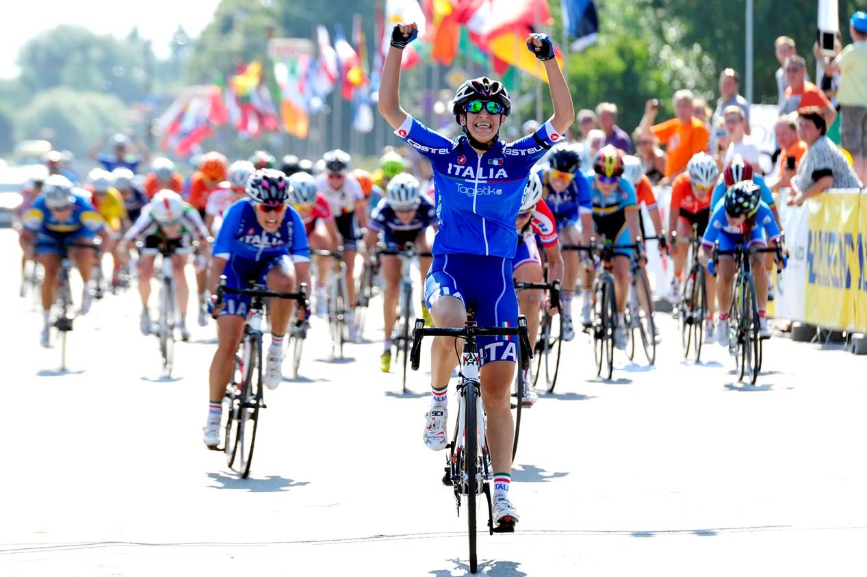Quagliotto, campeona de Europa en 2015. Foto © Sidi