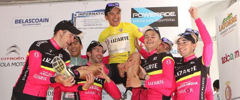 El Lizarte hizo una gran Vuelta a Navarra que acabó coronando a Richard (Foto: Equipo Lizarte)
