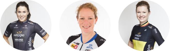 Chloe Hosking, Kirsten Wild y Jolien D'hoore son, sobre el papel, las velocistas más destacadas presentes en Doha