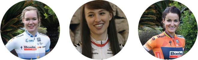 Anna van der Breggen | Kasia Niewiadoma | Lizzie Deignan
