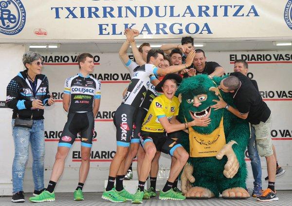 Los italianos del Colpack fueron sin duda los grandes protagonistas de la Bidasoa 2016 (Fuente: @teamcolpack2013 )