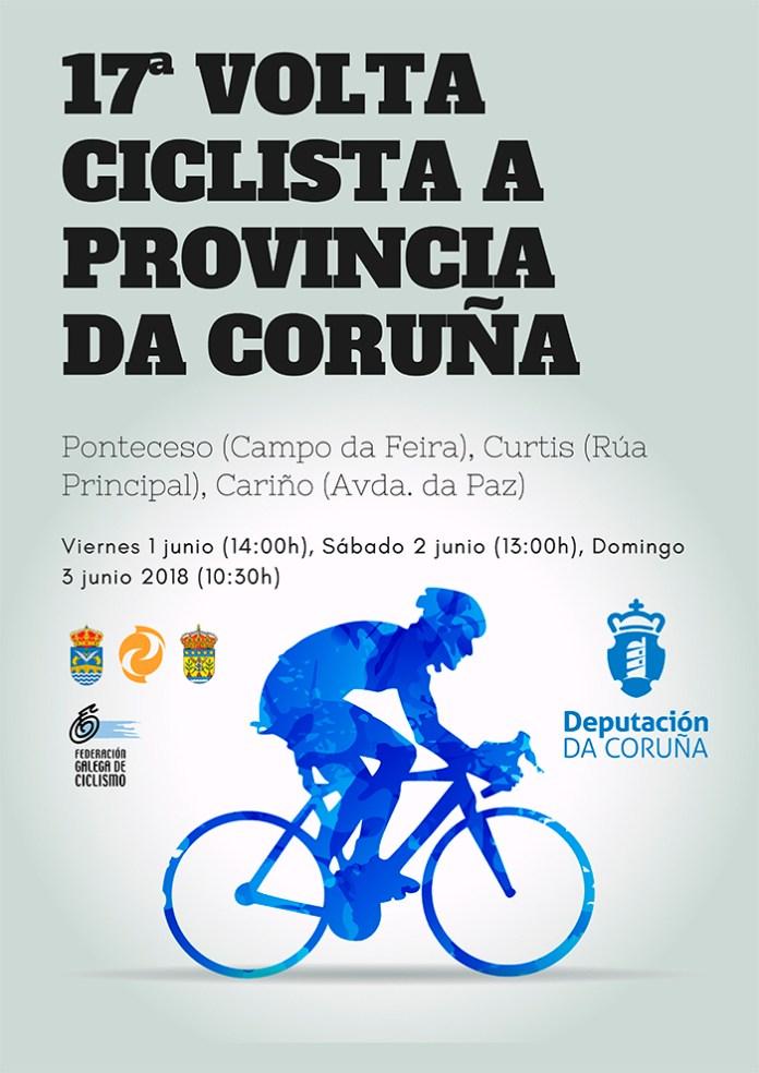 Cartel Volta Coruña