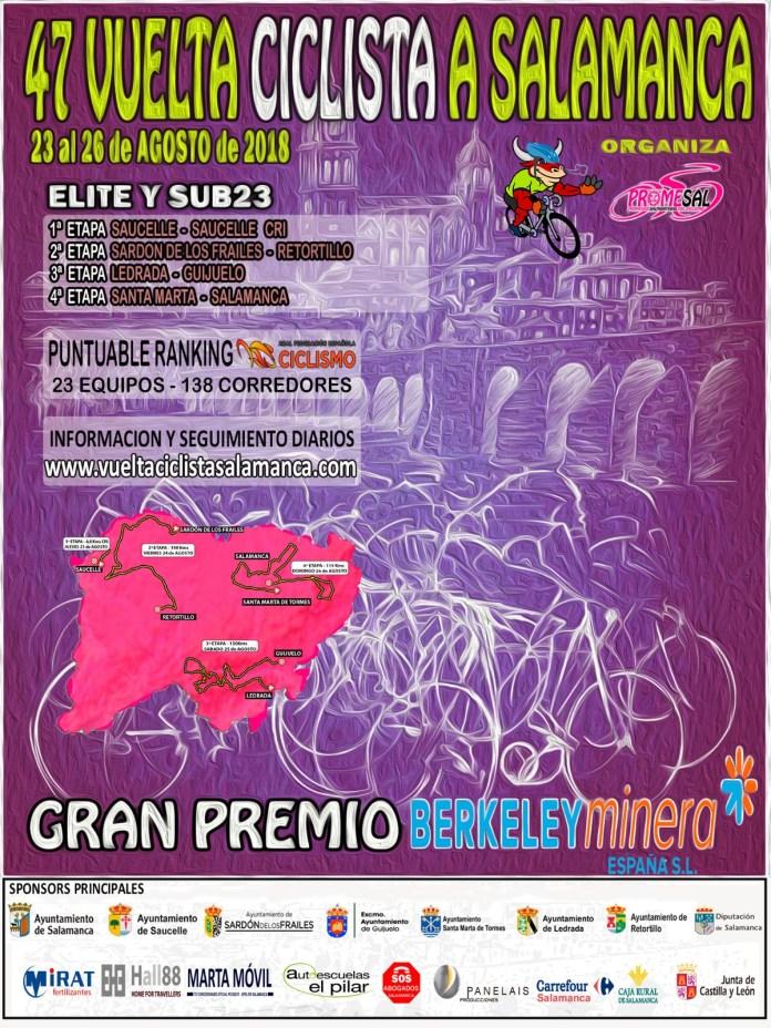 Cartel Vuelta Salamanca