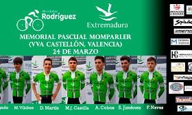 Alineación Momparler Bicicletas Rodríguez-Extremadura