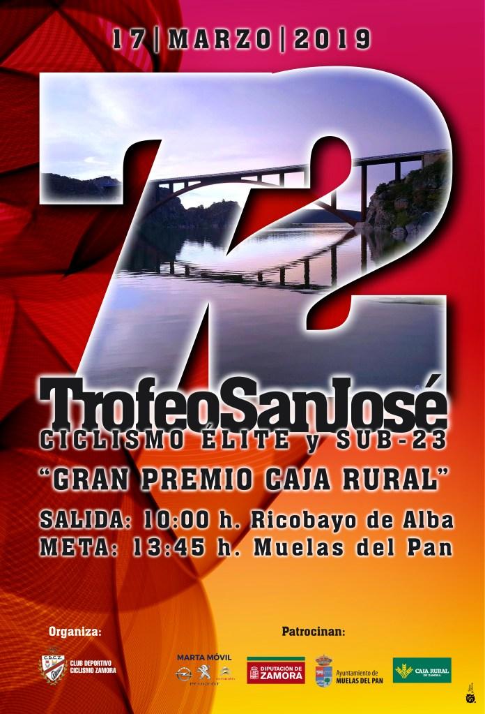 Cartel 72 Trofeo Ciclista San José