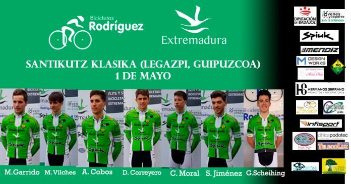 Alineación Legazpi Bicicletas Rodríguez-Extremadura