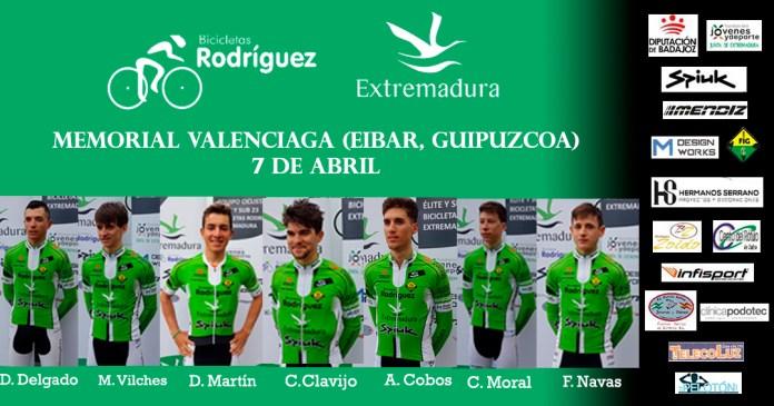 Alineación Valenciaga Bicicletas Rodríguez Extremadura