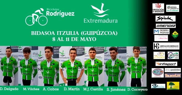 Alineación Vuelta Bidasoa Bicicletas Rodriguez Extremadura