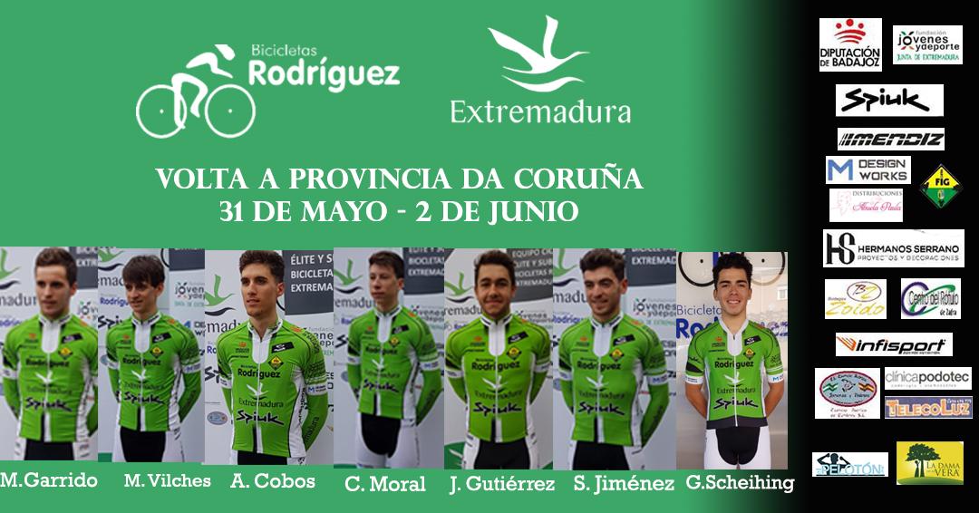 Alineación Volta Coruña Bicicletas Rodríguez Extremadura
