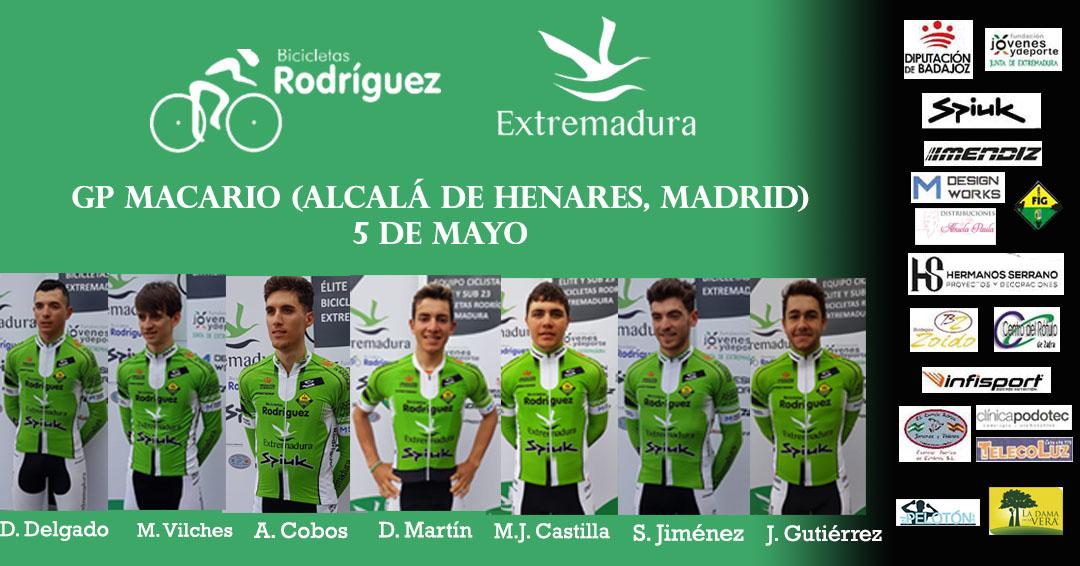 Bicicletas Rodríguez Extremadura GP Macario