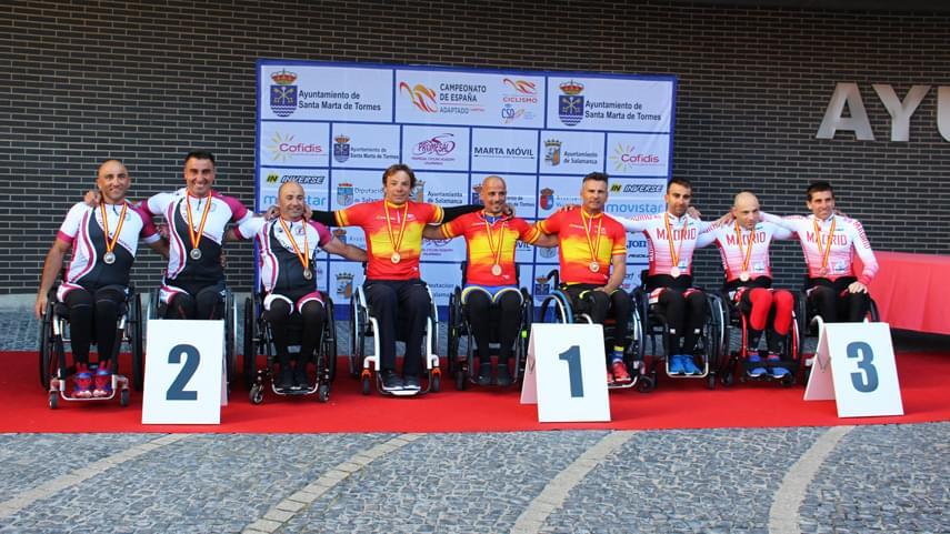 campeonato españa ciclismo adaptado