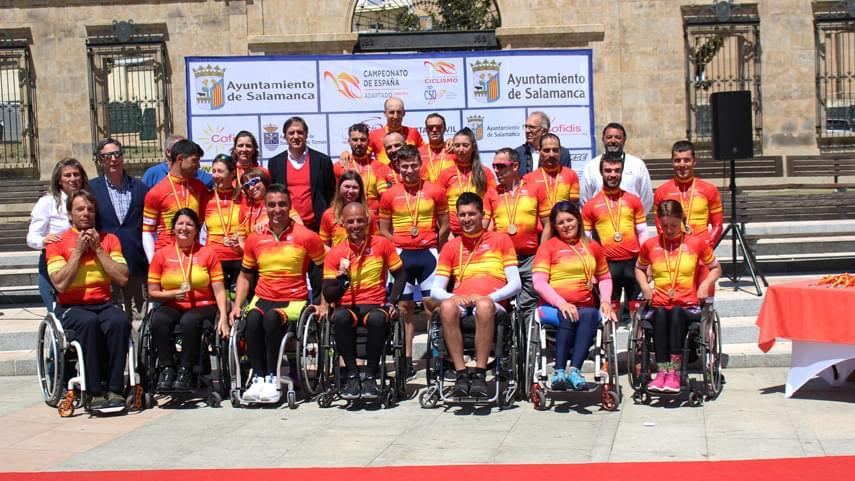 Ganadores Campeonato España Ciclismo Adaptado Salamanca