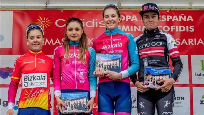 Copa de España femenina podium lideres