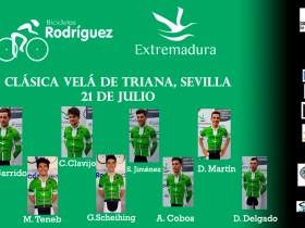 Alineación Sevilla Bicicletas Rodríguez-Extremadura