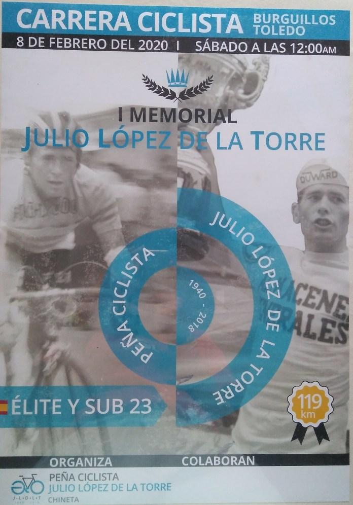 Memorial Julio López Chineta Burguillos 2020