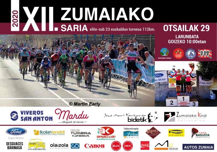 Cartel Zumaia Euskaldun 2020