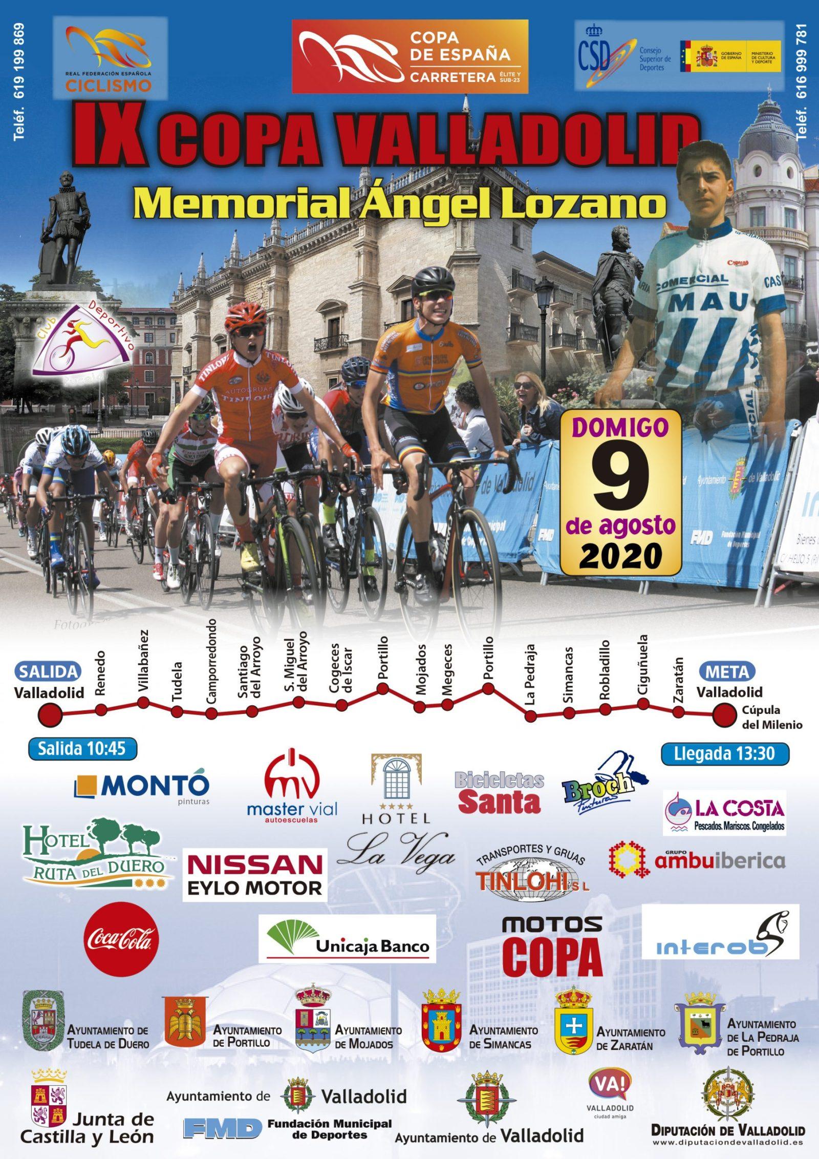 Cartel Memorial Ángel Lozano Valladolid