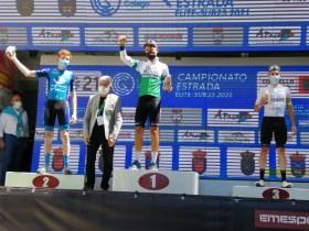 Pódium Campeonato Galicia 2021