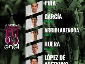 Alineación Caja Rural Giro Italia sub-23