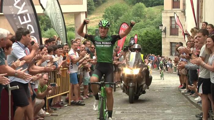 Imagen de Oier Lazkano, último ganador en Gatzaga