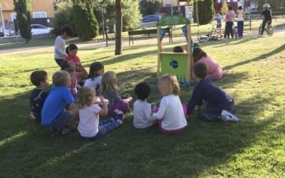 Las niñas del parque