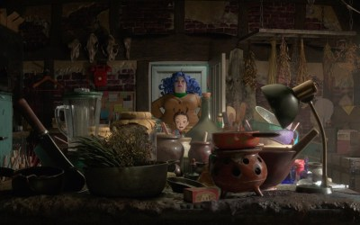 Earwig y la bruja de Goro Miyazaki (Studio Ghibli)