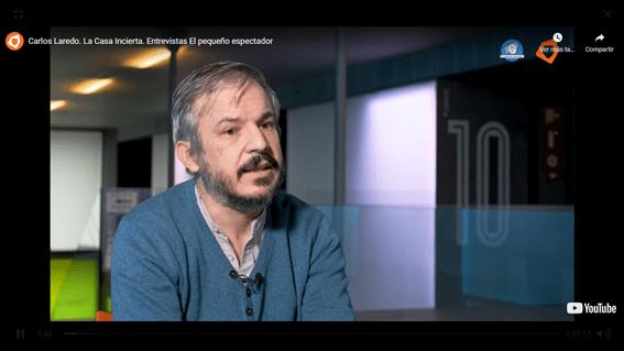 Entrevista a Carlos Laredo, director de La casa incierta, compañía pionera en España en el teatro para la primerísima infancia