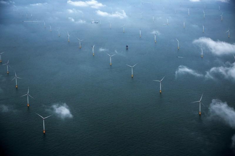 London Array -en la foto- que es el mayor en la actualidad con 630 MW de potencia.