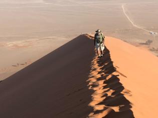 ascendiendo la duna 40