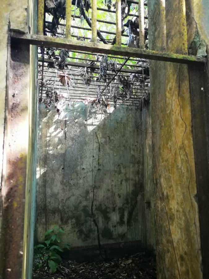 celda de asilamiento, donde estuvo Papillon