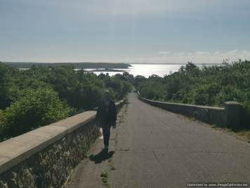 de excursión por la isla