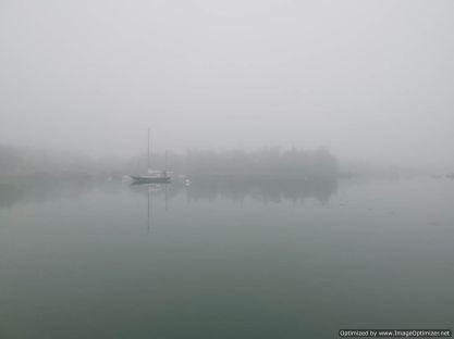 amanecer con niebla es normal