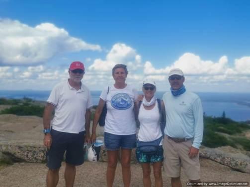 Con Kisk y Mary en Acadia
