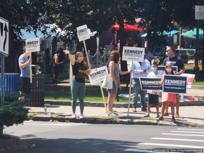 Si hay una manifestación, es a favor de Kennedy