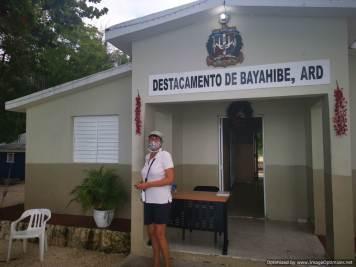 Pidiendo despacho en Bayahibe