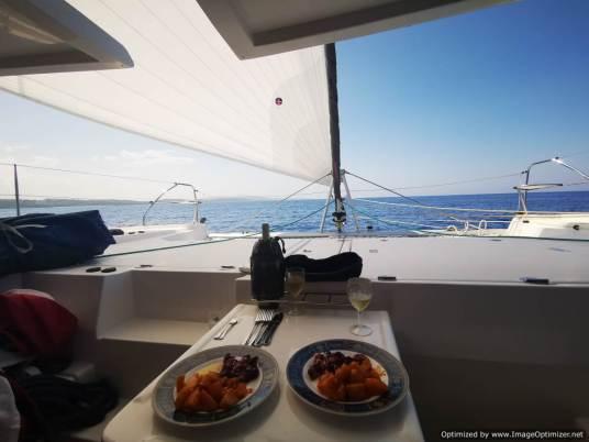navegando con gennaker