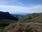 Vistas hacia el sur de la Calderona