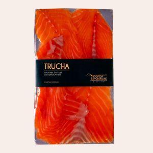 El Pescador Barcelona Trucha ahumada