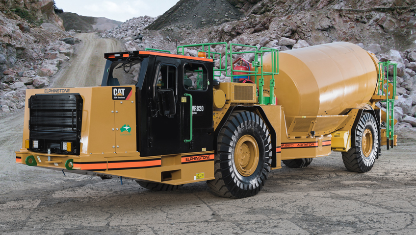 WR820 Underground Agitator Truck
