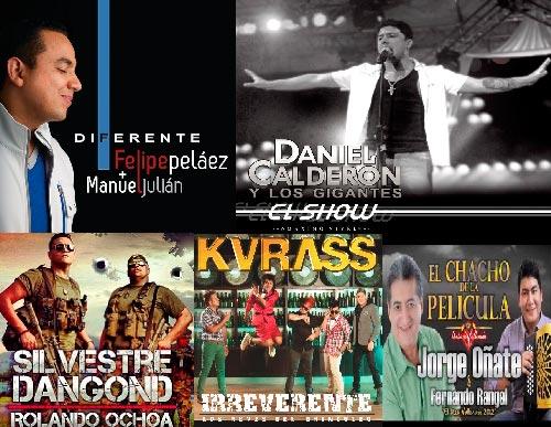 Estos son los cantantes y grupos de música vallenata aspirantes a obtener este reconocimiento en la industria musical latina.