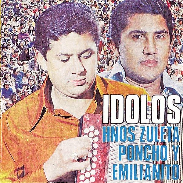 La primera separación de los Hermanos Zuleta se dio en 1975. 'Poncho' llamó a 'Colacho' Mendoza, mientras Emiliano hizo pareja con Jorge Oñate.