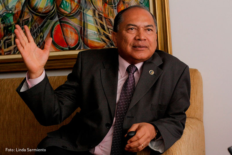 Amilkar Acosta, director de la Federación Nacional de Departamentos.