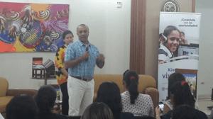 Luis Fernando Lozano Director de Conectividad MinTIC en el Foro de Caso de Éxito en Cesar