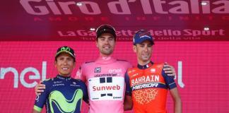 podio Giro de Italia